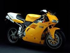 Ducati 748r Moto Foto Impresión A4