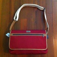 NWT Coach Red Nylon Messenger Bag 70355