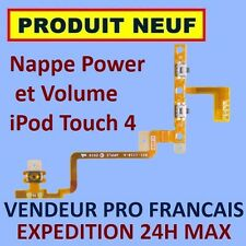 ✖ NAPPE BOUTONS POWER VOLUME IPOD TOUCH 4 4G FLEX ✖ NEUF GARANTI EXPÉDITION 24H✖
