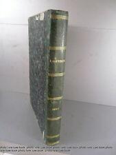 L'omnibus journal littéraire illustré relié de l'année 1857 gravures
