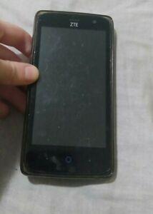 ZTE ZFIVE G LTE Z557BL - 8GB - Black (Straight Talk) (Single SIM)