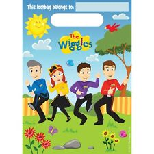 The Wiggles Licensed 8x Party Favor Favour Loot Treat Lolly Bags 16x24cm
