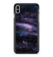 Purple Cosmo Space Multi Coloured Dazzling Stars Extravagant 2D Phone Case Cover