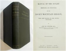 1885 COULTER ROCKY MOUNTAIN BOTANY MANUAL Frontier Wild West NATURAL HISTORY