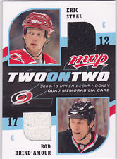 2009-10 Upper Deck MVP Two on Two JSY E.Staal/Brind'Amour/Ovechkin/Fleischmann