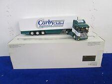 Eligor corby réfrigérées scania camion par recherche impex échelle 1/43