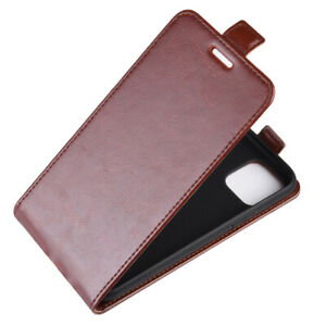 For iPhone 13 12 mini / 12 / 13 12 Pro Max Vertical UP Down Flip PU Leather Case