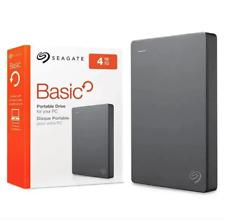 """Hard Disk Esterno 2,5"""" SEAGATE 4TB 2,5 USB 3.0 HDD Autoalimentato HD Nuovo"""