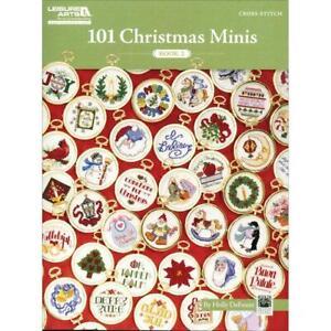 Leisure Arts Cross Stitch Patterns - 101 Christmas Minis Book 2