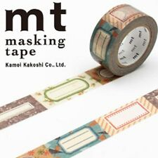 MT Washi Masking Deco Tape Antique Labels Design