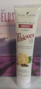 NEW AND SEALED!-Thieves AromaBright Toothpaste [4 oz] by Young Living