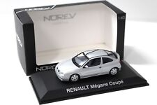 1:43 Norev Renault Megane Coupe 2001 silver NEW bei PREMIUM-MODELCARS