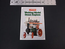 VINTAGE MAMOD WORKING MODEL STEAM ENGINE BROCHURE FIRE ENGINE ROADSTER *VG-COND*