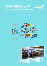 CALCAS FORD FIESTA WRC SEBASTIAN OGIER MONTECARLO 2017