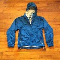 Nike ACG 3 Outer Layer Storm Fit Womens Hooded Blue Zip Jacket Size Small