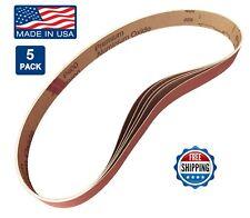 """1"""" x 30"""" Sanding Belts, 5 pack, 400 grit, AL Oxide, Knife Blade Makers / Making"""