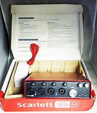 Focusrite Scarlett 18i8 2nd Generation USB Audio Interface REFURBISHED -Warranty