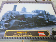 Lokarchiv Dampfloks 569 Baureihe 99.110 Schmalspur NÖLB Mariazeller Bahn Österre