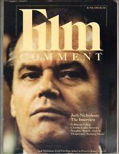 Jack Nicholson Película Comment Revista 6/85 Madonna Desperately Seeking Susan