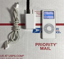 Apple iPod Nano A1137 1st Gen White 4GB Bundle - TESTED - 100% WARRANTY
