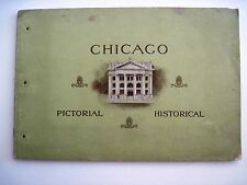 "1902 ""Chicago Pictorial Historical Booklet by ""Chicago National Bank"" *"