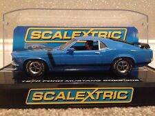 Scalextric Limited Edition Ford Mustang Boss 302 Street Car Chrome Tag C2976