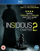 Insidious - Chapter 2 [Blu-ray] [DVD][Region 2]