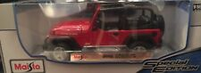 1/18 Jeep Wrangler Rubicon Convertible American Off Road 4x4 1:18