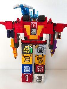 Power Rangers Doubutsu Sentai Zyuohger DX Wild Tousai dodeka King FedEx Ship F/S