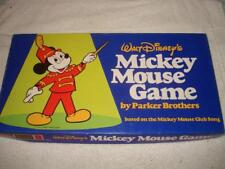 Vintage 1976 Walt Disney Mickey Mouse Board Game 100% Complete