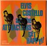 ELVIS COSTELLO AND THE ATTRACTIONS GET HAPPY!! CD COLUMBIA USA SILVER FACE