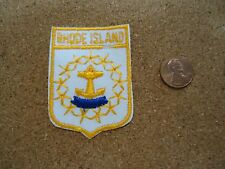 Vintage Rhode Island State Patch New Old Stock