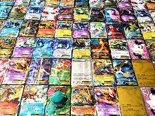 50 POKEMON TCG CARDS LOT : COMMON, UNC, RARE, HOLO - GUARANTEED EX OR FULL ART