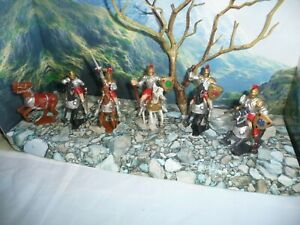CHERILEA COPIES RARE  60 MM MOUNTED KNIGHTS LOT -L@@K!!!!!!!!!!!!!!!