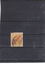 BERLIN 1947 SURCHARGE ROUGE YT 10 OBLITERE SIGNE