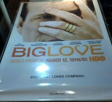 """2006 ORIGINAL HBO 27"""" X 40"""" BIG LOVE PROMOTIONAL POSTER BILL PAXTON"""