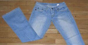 P&Y Denim Jeans pour Femme  W 27 - L 32 Taille Fr 36  5 Poche Alex (Réf # X025)