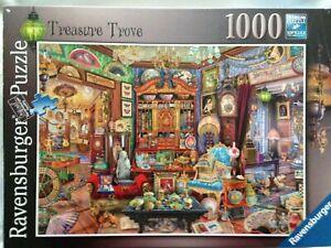 Brand New Ravensburger 1000 Piece Jigsaw Puzzle - TREASURE TROVE