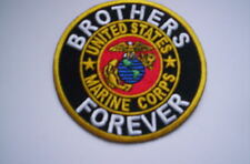 Aus den USA     UNITED STATES MARINE CORPS  Brothers Forever ca 7,5  cm