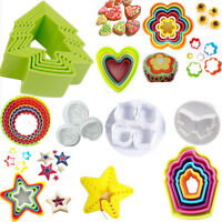 Cookie Cutter Mould Mold Cake Biscuits Kids Bake Pastry Cupcake Fondant Shapes