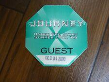 Journey Under the Stars 99 Guest 2000 Tour Backstage Concert Pass