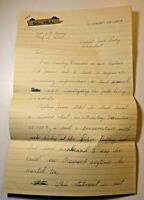 1963 ORIGINAL John F Kennedy JFK ASSASSINATION LEE HARVEY OSWALD SIGNED LETTER