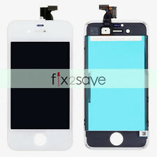 White LCD Display LCD Touch Screen Digitizer Frame Assembly Parts For iPhone 4S