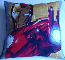 MARVEL COMICS Super Eroe Avengers Iron Man Copricuscino / federa 12x12 pollici