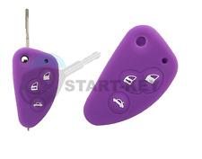Alfa Romeo Schlüssel Klappschlüssel Silikon Hülle 156 147  Chiave cle key  Lila