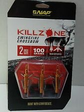 Nap Killzone Swingfire Crossbow 100 Grain 3 Pack Broadh