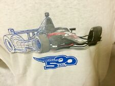 Indianapolis Indy 500 2012 Event Logo DW DALLARA CHASSIS T-SHIRT Large New!