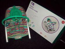 Mothercare Hoola Rocker con música y las vibraciones de actividad + MP3 función en Caja!