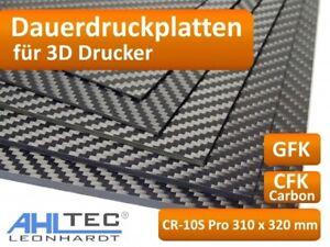 3D Drucker Dauerdruckplatte für CR-10S Pro 310 x 320mm - ABS PLA PETG HIPS  ...