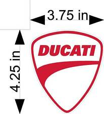 DUCATI MOTORCYCLE vehicle decals/stickers